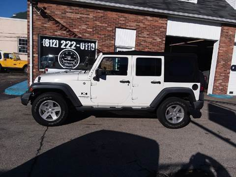 2008 Jeep Wrangler Unlimited for sale in Greensburg, IN