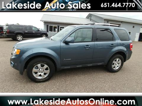 2010 Ford Escape Hybrid for sale in Forest Lake, MN