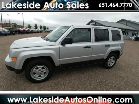 2014 Jeep Patriot for sale in Forest Lake, MN
