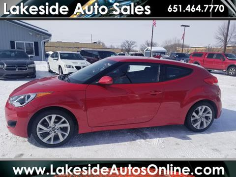 2016 Hyundai Veloster for sale in Forest Lake, MN