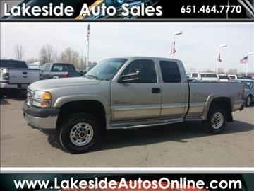 2001 GMC Sierra 2500HD for sale in Forest Lake, MN