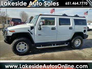 2003 HUMMER H2 for sale in Forest Lake, MN