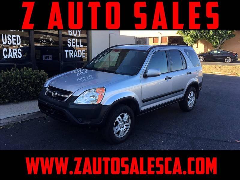 2003 Honda CR-V for sale at Z Auto Sales in Corona CA