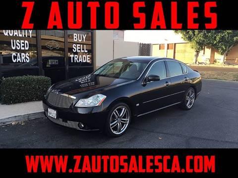 2006 Infiniti M45 for sale at Z Auto Sales in Corona CA
