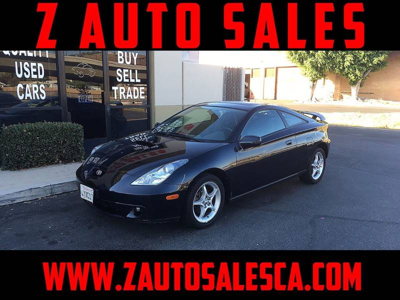 2002 Toyota Celica for sale at Z Auto Sales in Corona CA