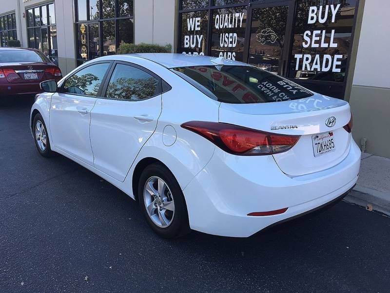 2014 Hyundai Elantra for sale at Z Auto Sales in Corona CA