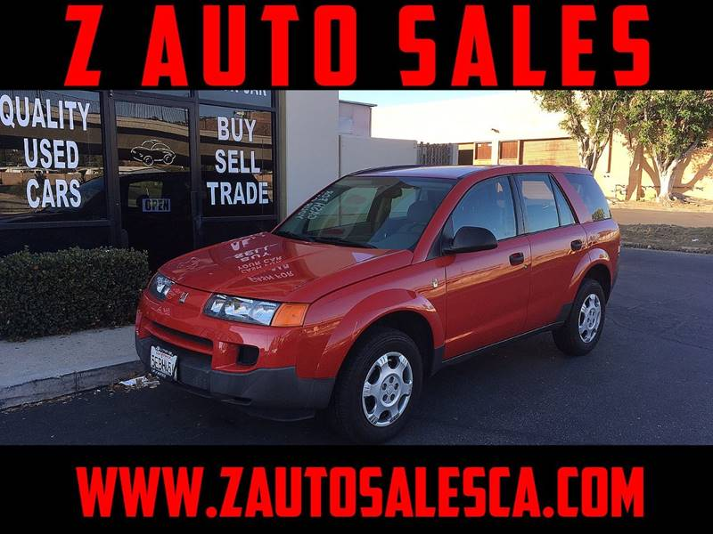 2003 Saturn Vue for sale at Z Auto Sales in Corona CA