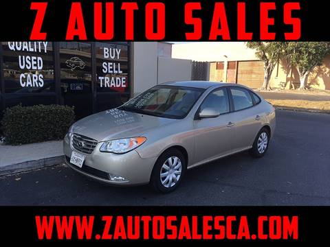 2010 Hyundai Elantra for sale at Z Auto Sales in Corona CA