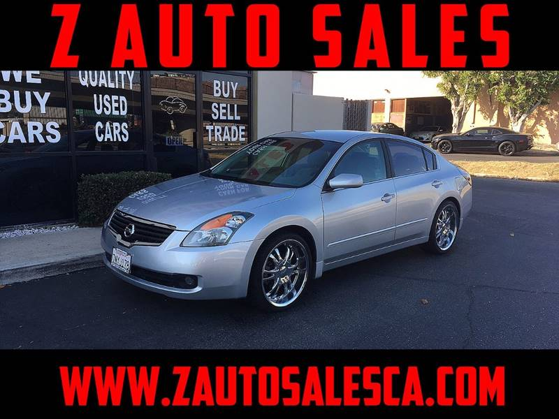 2007 Nissan Altima for sale at Z Auto Sales in Corona CA