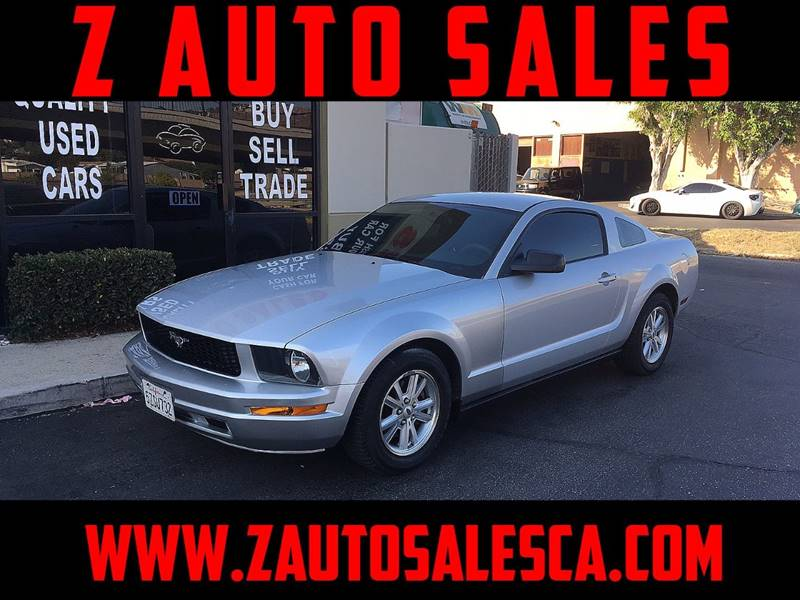 2007 Ford Mustang for sale at Z Auto Sales in Corona CA