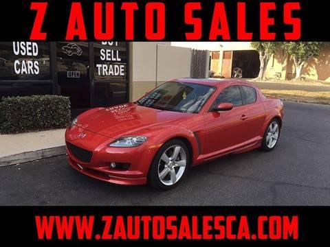 2006 Mazda RX-8 for sale at Z Auto Sales in Corona CA