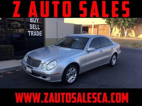 2004 Mercedes-Benz E-Class for sale at Z Auto Sales in Corona CA