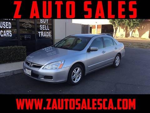 2006 Honda Accord for sale at Z Auto Sales in Corona CA