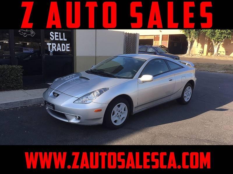 2001 Toyota Celica for sale at Z Auto Sales in Corona CA