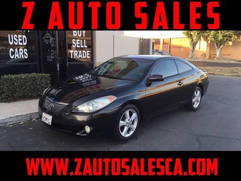 2006 Toyota Camry Solara for sale at Z Auto Sales in Corona CA