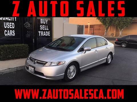 2006 Honda Civic for sale at Z Auto Sales in Corona CA