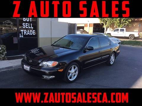 2003 Infiniti I35 for sale at Z Auto Sales in Corona CA