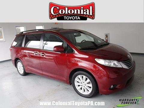 2015 Toyota Sienna For Sale In Pennsylvania