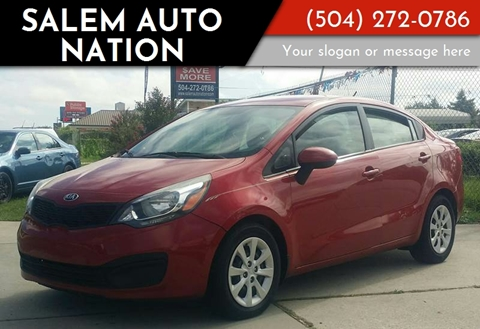 Nice 2014 Kia Rio For Sale In New Orleans, LA