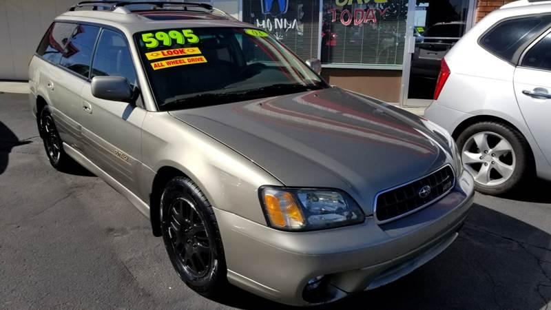 2003 Subaru Outback Awd Ll Bean Edition 4dr Wagon In Boise Id