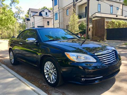 Used chrysler 200 convertible for sale in texas for Hayes motors lubbock tx