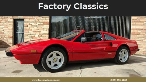 Ferrari 308 Gts For Sale >> 1985 Ferrari 308 Gts For Sale In Williams Az