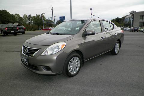 2013 Nissan Versa for sale at Paniagua Auto Mall in Dalton GA