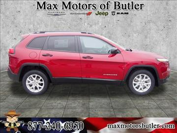 2016 Jeep Cherokee for sale in Butler, MO