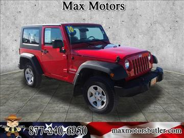2010 Jeep Wrangler for sale in Butler, MO