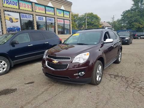 2011 Chevrolet Equinox for sale in Detroit, MI