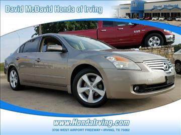 2007 Nissan Altima for sale in Irving, TX