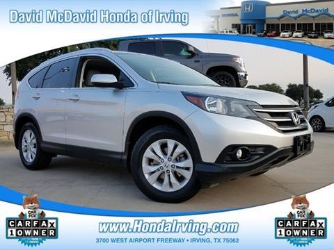 2013 Honda CR-V for sale in Irving, TX