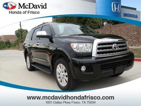 2015 Toyota Sequoia for sale in Irving, TX