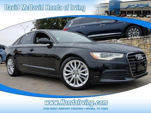 2013 Audi A6 for sale in Irving, TX