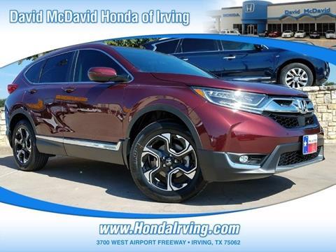 2017 Honda CR-V for sale in Irving, TX