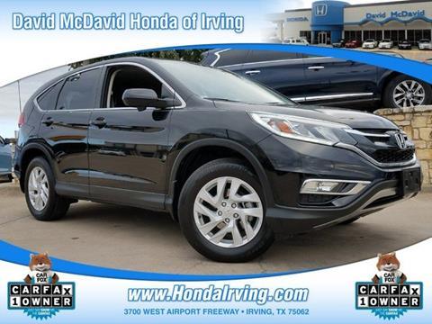 2015 Honda CR-V for sale in Irving, TX