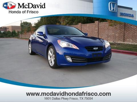 2012 Hyundai Genesis Coupe for sale in Irving, TX