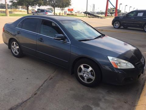 2007 Honda Accord for sale in Irving, TX