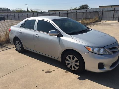2013 Toyota Corolla for sale in Irving, TX