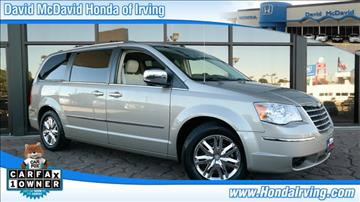 2008 Chrysler Town and Country for sale in Irving, TX