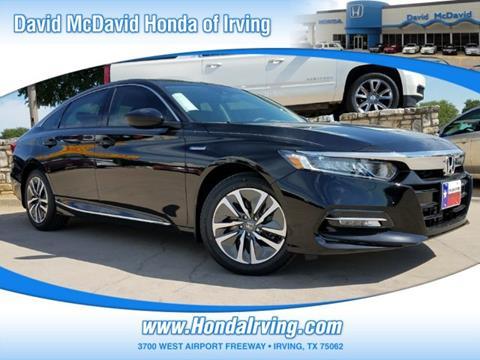 2019 Honda Accord Hybrid for sale in Irving, TX