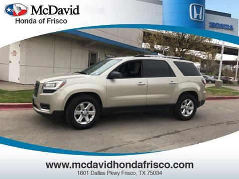 2014 GMC Acadia for sale in Irving, TX