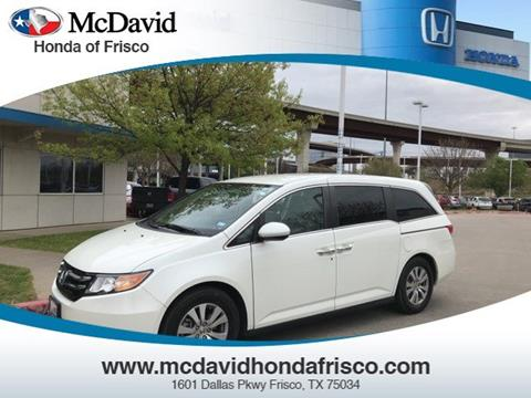 2015 Honda Odyssey for sale in Irving, TX