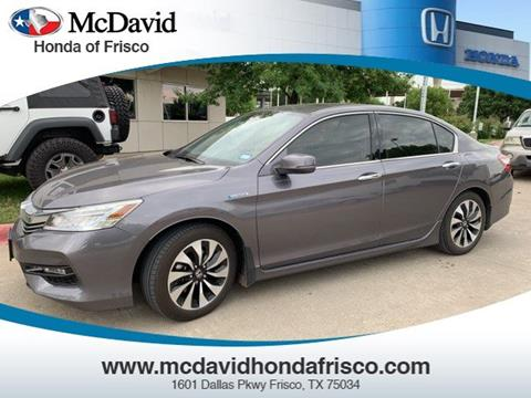 2017 Honda Accord Hybrid for sale in Irving, TX