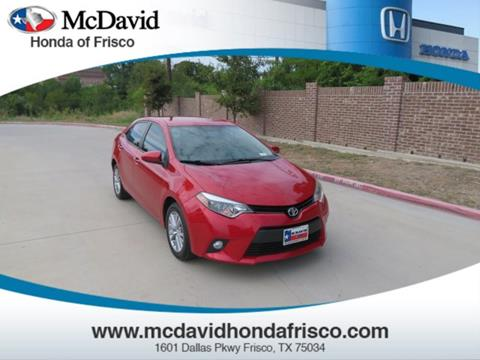 2014 Toyota Corolla for sale in Irving, TX