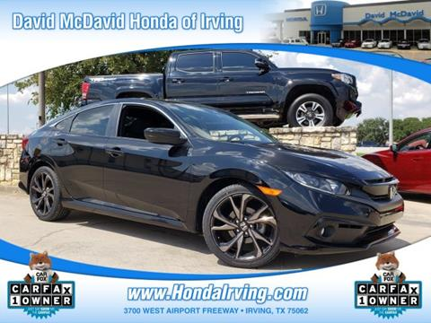 2019 Honda Civic for sale in Irving, TX