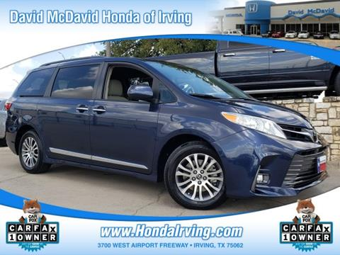 2018 Toyota Sienna for sale in Irving, TX