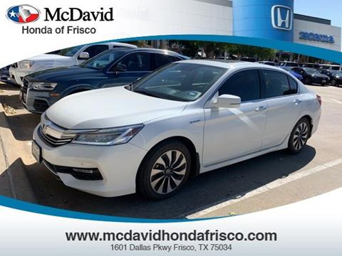 2017 Honda Accord Hybrid for sale in Irving, TX
