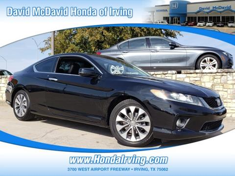 2013 Honda Accord for sale in Irving, TX
