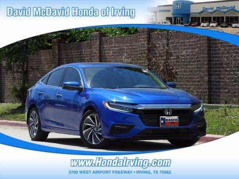 2020 Honda Insight for sale at DAVID McDAVID HONDA OF IRVING in Irving TX